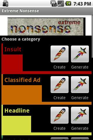 Extreme Nonsense- screenshot