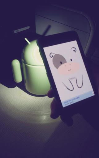 かわいい猫 cow lantern