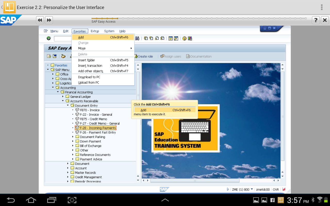 SAP Learn Now - screenshot