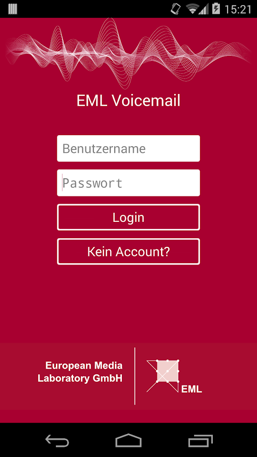 EML Voicemail- screenshot