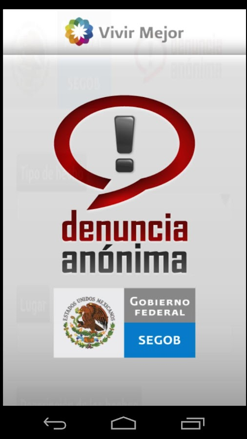 Denuncia Anónima- screenshot