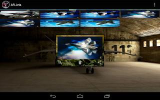 Screenshot of AR Jets: Battlefield Fighters
