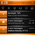 CM10 Orange Revolution Theme icon