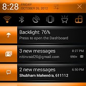 CM10 Orange Revolution Theme