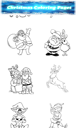 Christmas Coloring Pages.