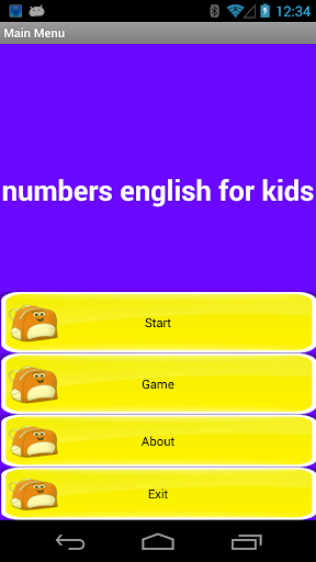 Numbers English for Kids