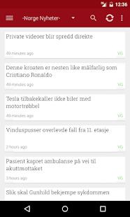 Norge Nyheter - screenshot thumbnail