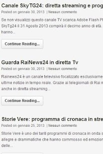 Ultime notizie Quotidiani e TV- screenshot thumbnail