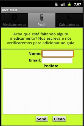 Vet Medicamentos: captura de tela