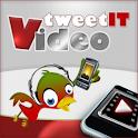 VTweetIT Live Stream VideoBlog logo