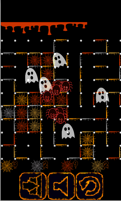 Dots And Boxes Halloween- screenshot
