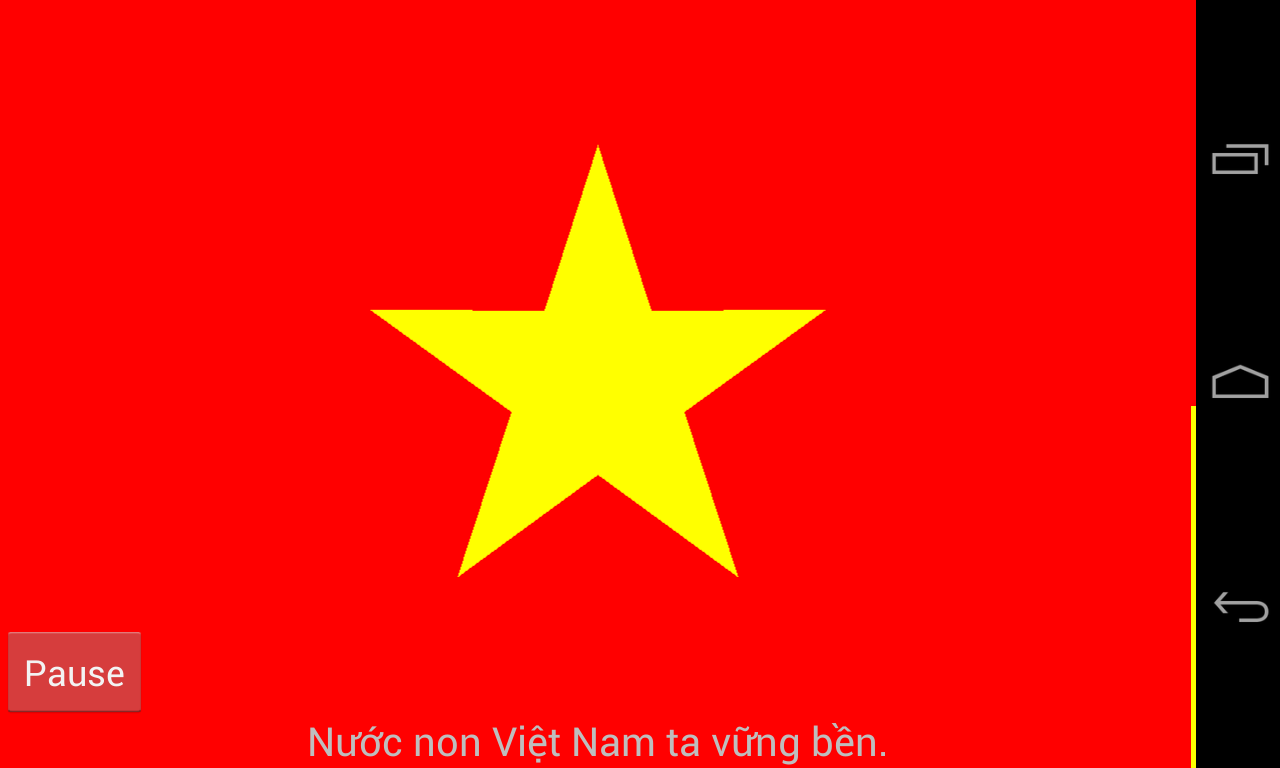 Chao co Viet Nam - screenshot