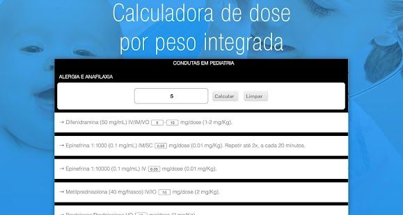 iPediatria, Pediatria Infantil - screenshot thumbnail