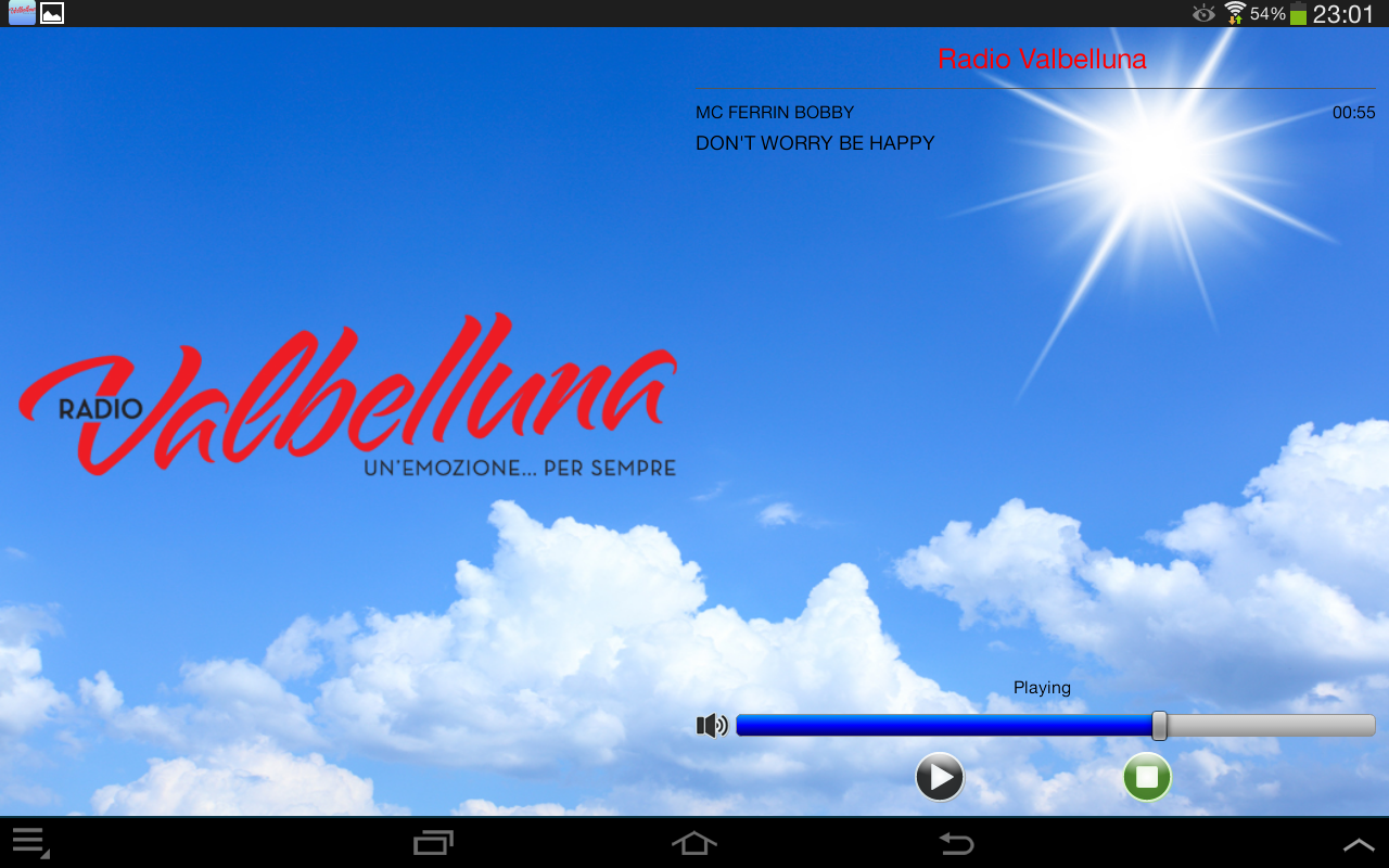 Radio Valbelluna- screenshot