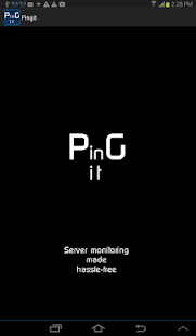 Pingit - screenshot thumbnail