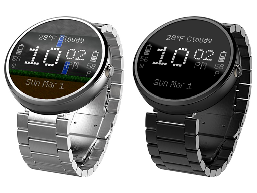 Digital Rain Animated Watches