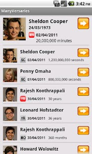 ManyVersaries Free- screenshot thumbnail