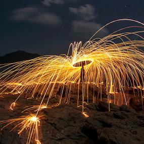 wadu jao by Erwan Setyawan - Abstract Fire & Fireworks