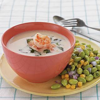 Coconut Shrimp Soup.