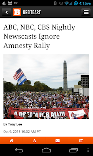Breitbart - screenshot thumbnail