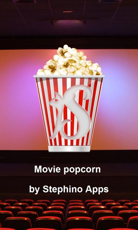 Movie popcorn GO Launcher - screenshot