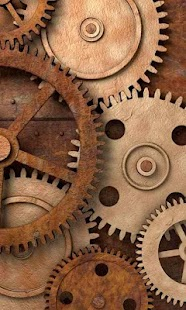 Rusty gears free livewallpaper - screenshot thumbnail