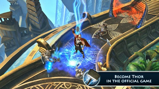 بازی فوق العاده زیبا و گرافیکی ثور Thor: TDW – The Official Game v1.0.0l