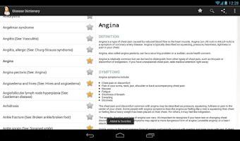 Screenshot of Diseases Dictionary (FREE)