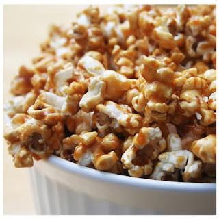 Warm Spiced Cinnamon Vanilla Popcorn