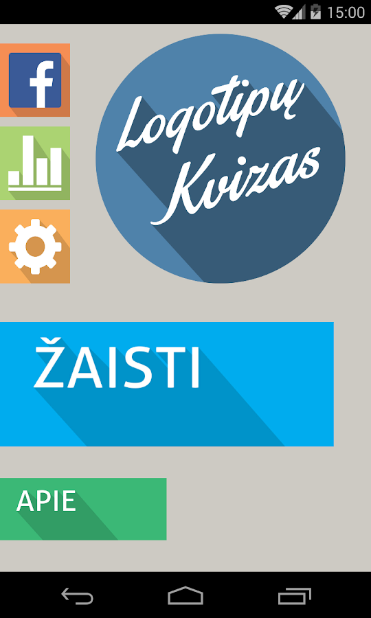 Logotipų Kvizas - screenshot