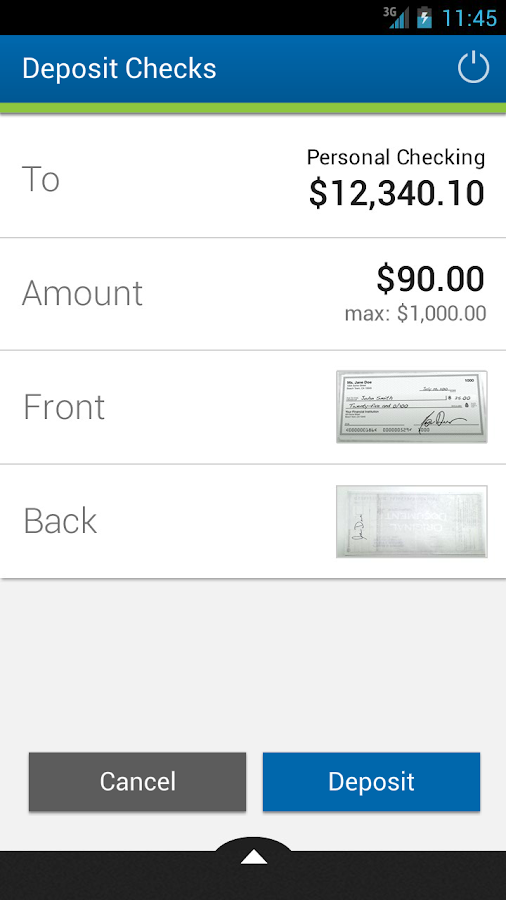 Cambridge Savings Bank - screenshot