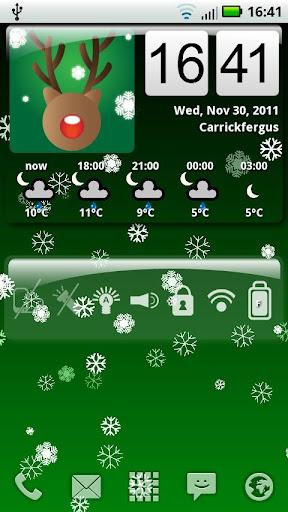 "Живые обои ""Awesome Snow Free"" для планшетов на Android"