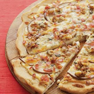 Bacon, Pear & Gorgonzola Pizza