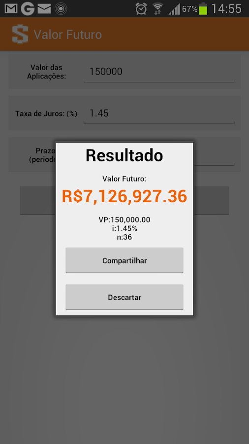 Descomplica Financeira - screenshot