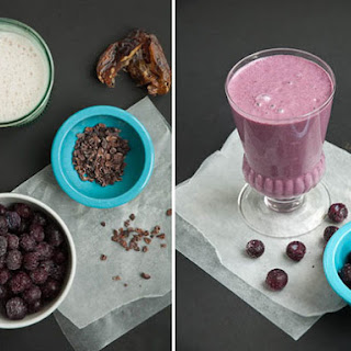Purple Superfoods Smoothie.