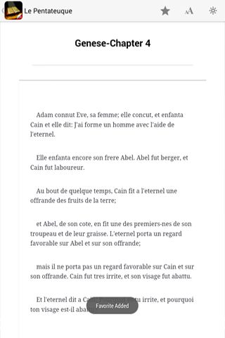 Bible In French - screenshot