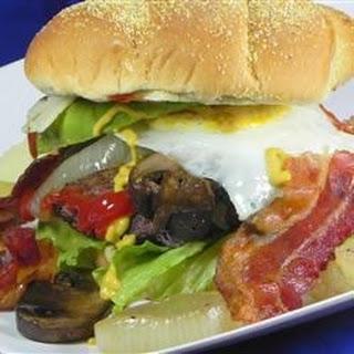 'The Pacemaker' Venison Burger.