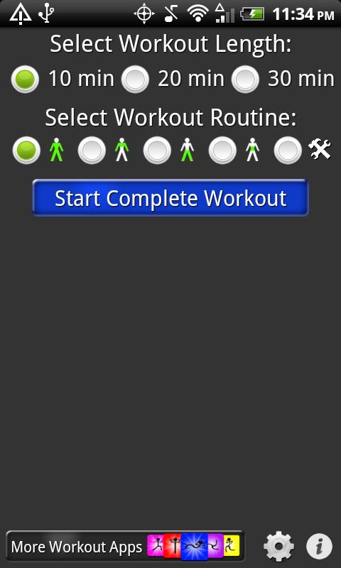 Daily Workouts - screenshot