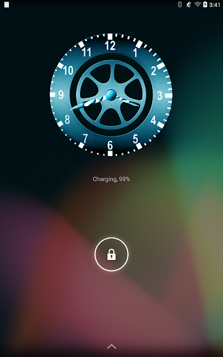 Clock Wheel Free Widget