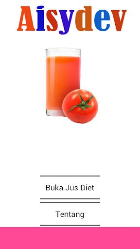 Jus Diet Alami Resep
