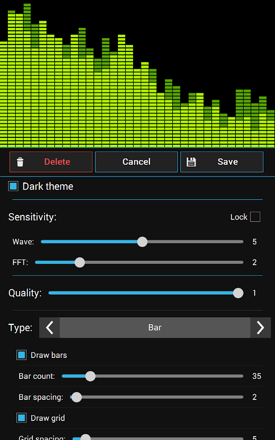 Spectrum Analyzer Pro - screenshot
