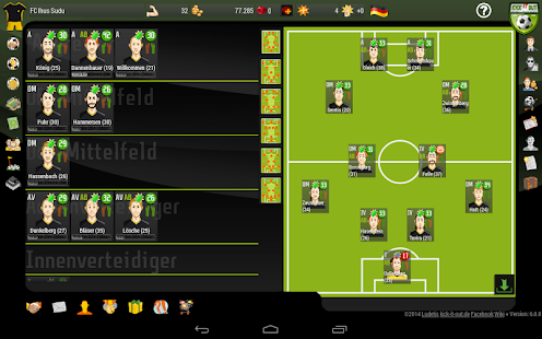 Kick it out! Football Manager- screenshot thumbnail
