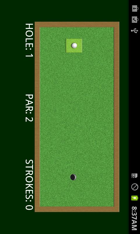 Putting Golf - screenshot