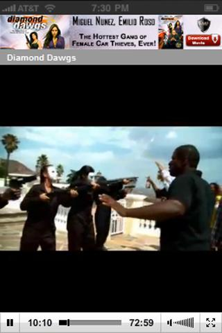 Diamond Dawgs Action Movie - screenshot
