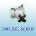 Disable Speaker icon