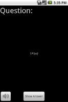 Screenshot of Flash Notes