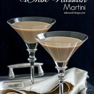 White Russian Martini.
