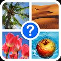 4 Plaatjes 1 Woord: Foto Quiz icon