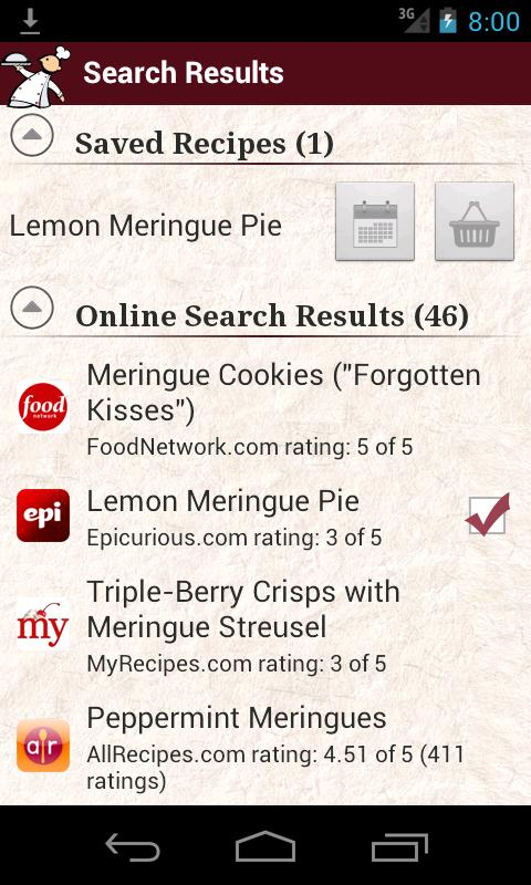 What's for Dinner? Recipes - screenshot