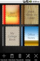 Screenshot of NoteBook Pro